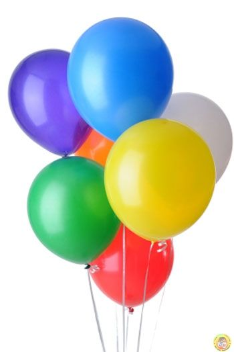 Балони пастел - микс, 25см, 100бр.