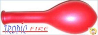 Балони металик- червено, 25см, 10бр.