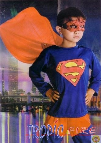 Детски костюм Супермен М размер