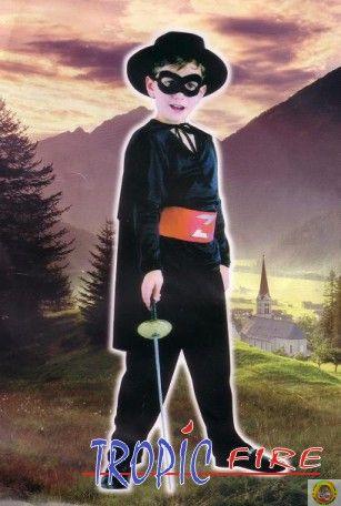 Детски костюм Зоро М размер