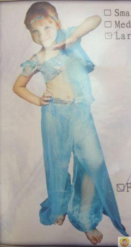 Детски костюм Oриенталска танцьорка М размер