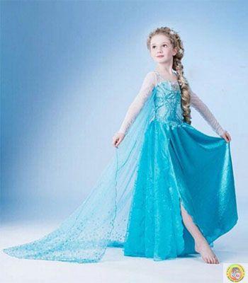 Детски костюм Елза L размер