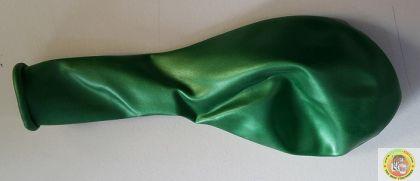 Балони металик- светло зелено, 25см, 100бр.