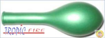 Балони металик- зелено, 25см, 100бр.