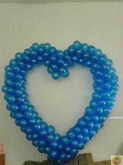 Изработване на сърца от балони