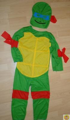 Детски костюм Костенурките Нинджа - L