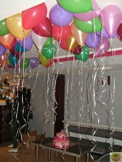 Стандартен балон 25 см с хелий