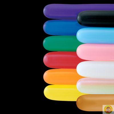 Балони за моделиране - цикламено