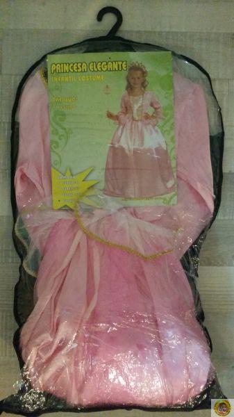 Детски костюм-Принцеса-розова М размер