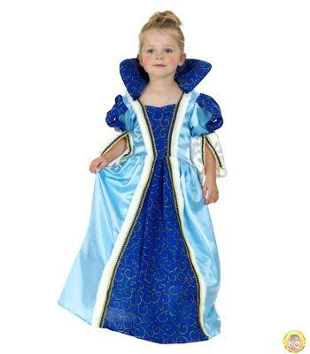 Детски костюм-Принцеса-синя М размер