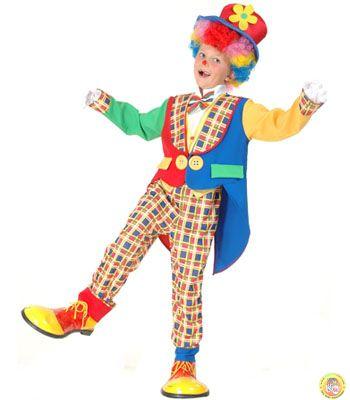 Детски костюм-Клоун S размер