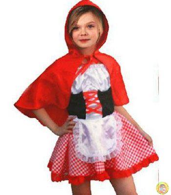 Детски костюм-Червената шапчица М размер