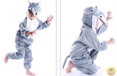 Детски костюм-Вълк S размер