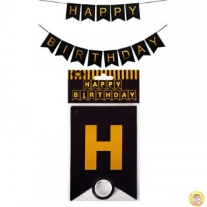 "Парти украса ""Happy Birthday"""